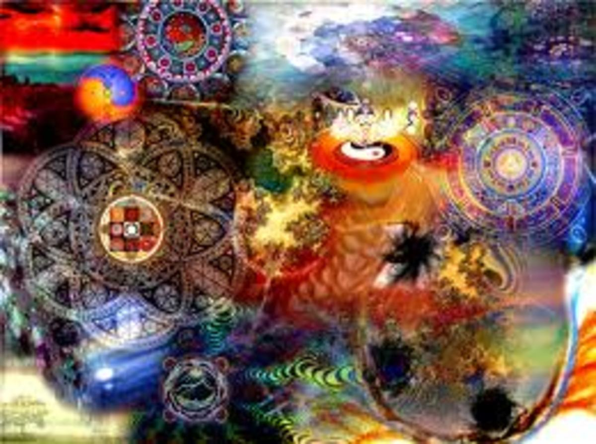 Spiritual things can be of any shape and form, it is up to our imagination and what we believe they could be.