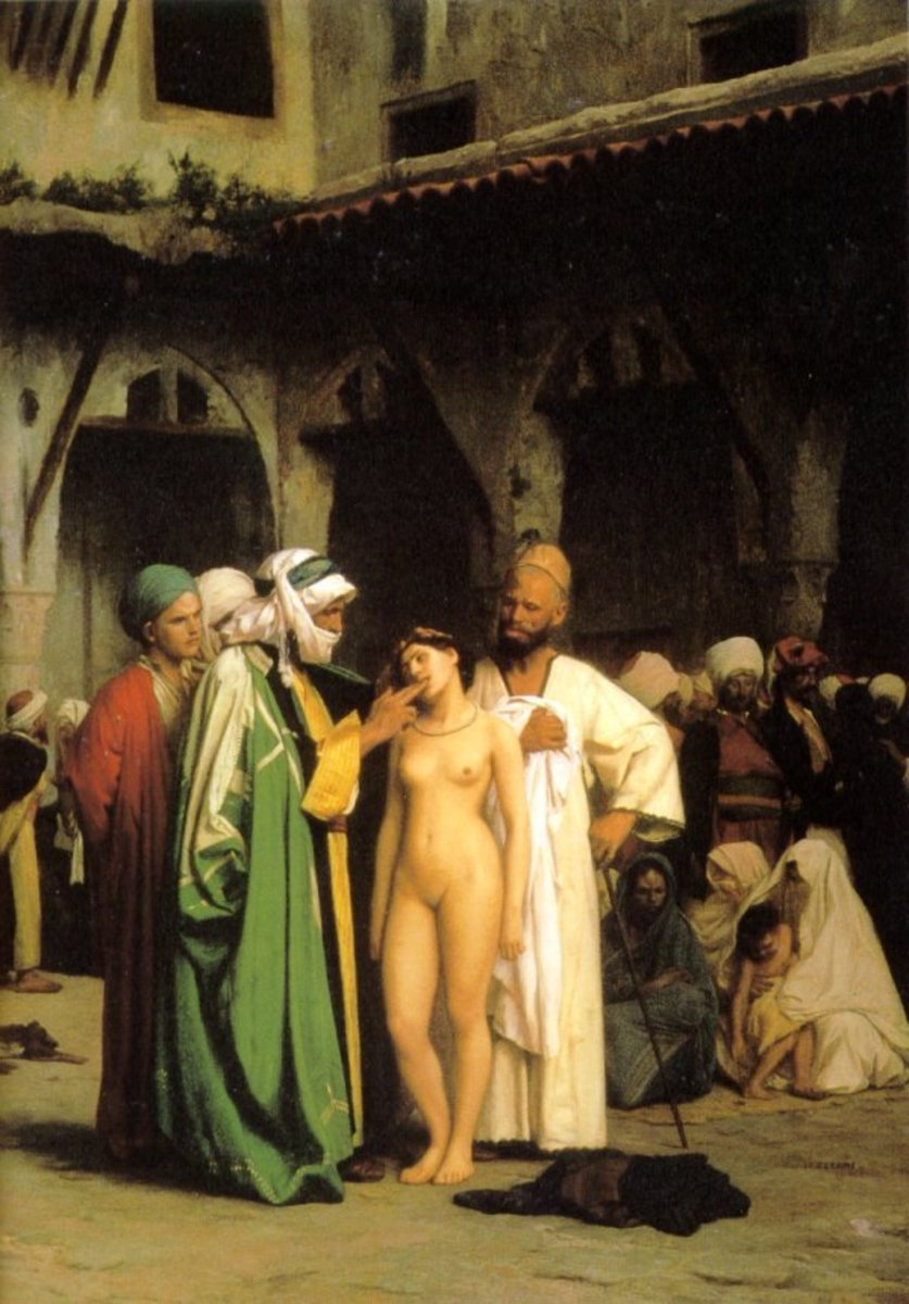 THE SEX SLAVE TRADE IS THRIVING IN THE WORLD TODAY