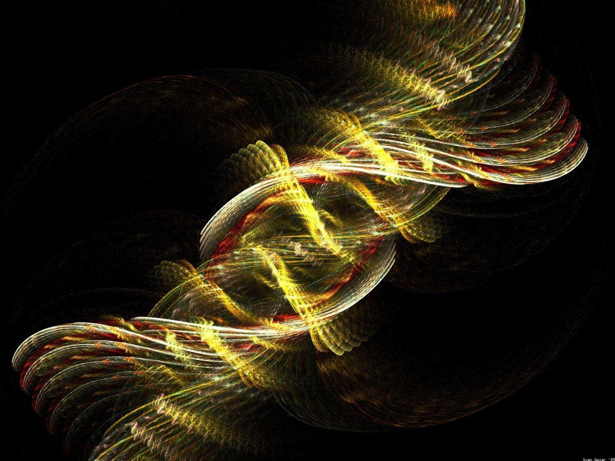 ACTUAL PHOTOGRAPH OF HUMAN DNA
