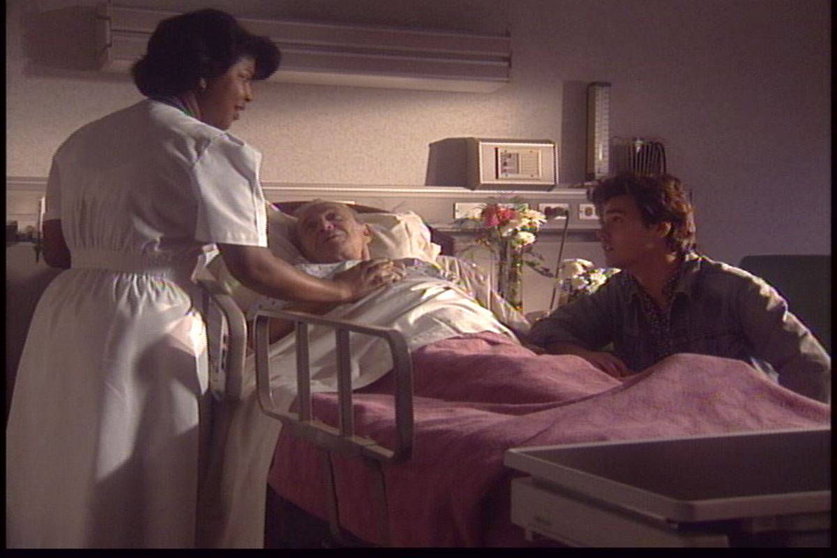 END OF LIFE SCENE