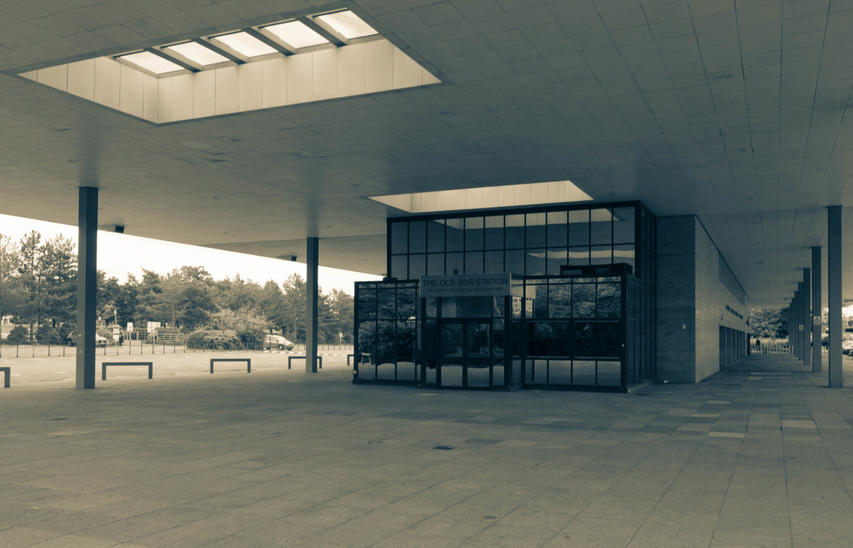 The Old Central Bus Station in Milton Keynes