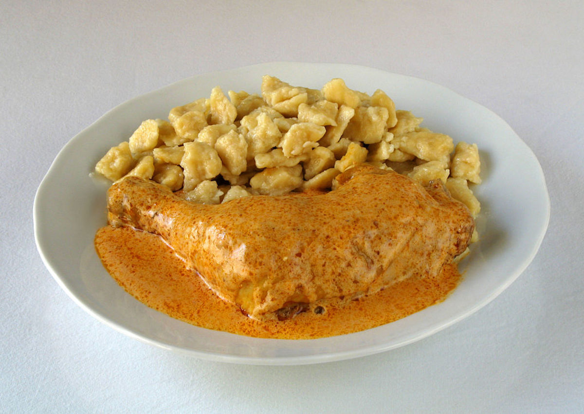 Hungary's Famous (and Easy!) Chicken Paprikash