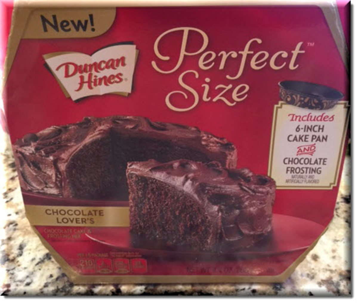 Duncan Hines Perfect Size Chocolate Lovers Chocolate Cake