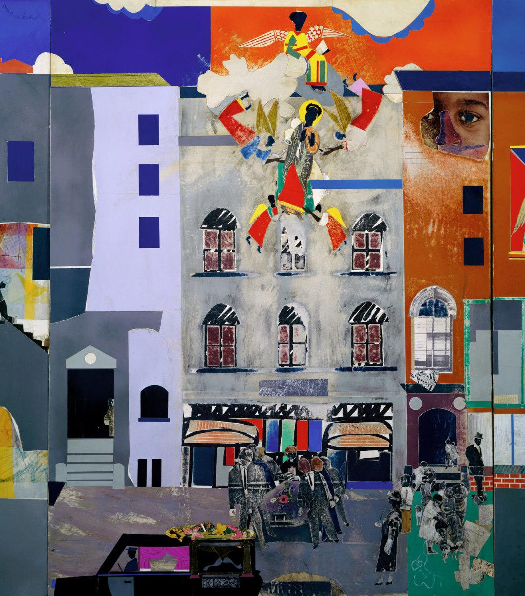 The Block by Romare Bearden