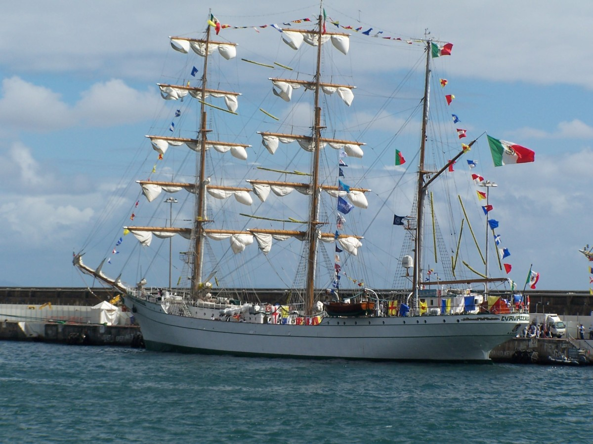 Tall Ships in Madeira