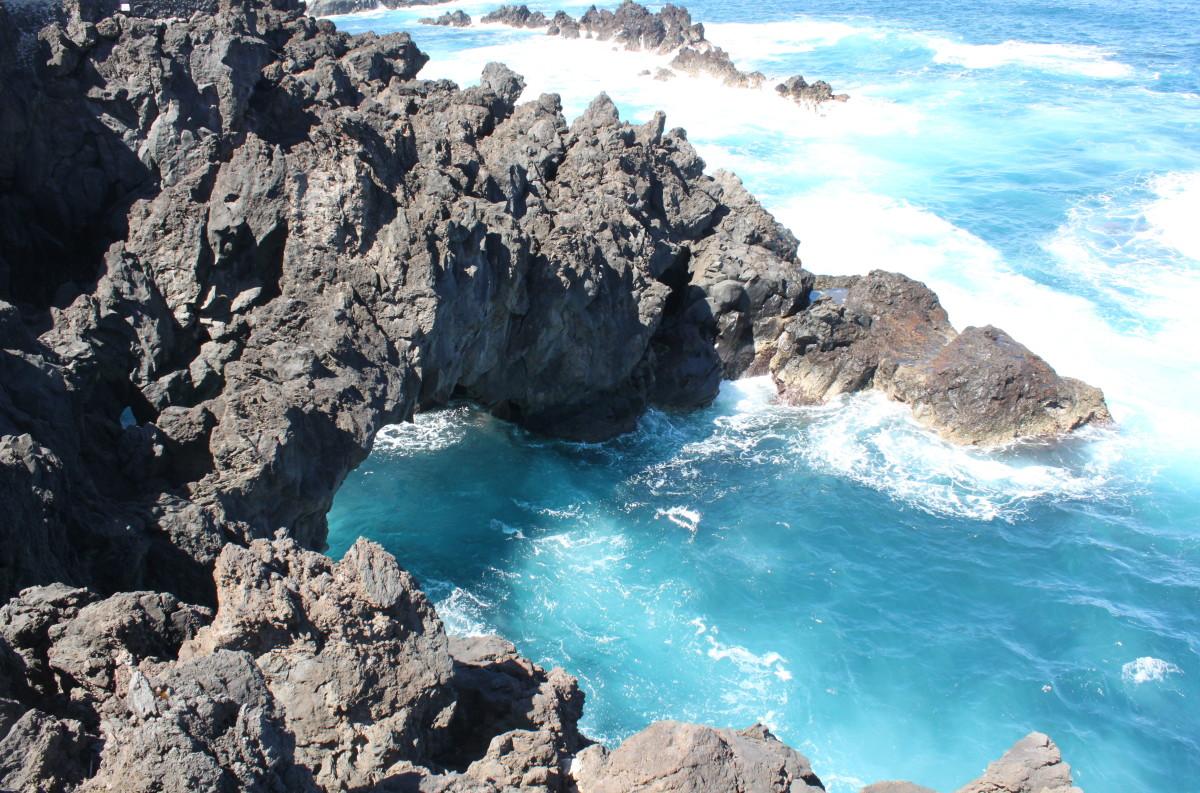 The Lava Rock Pools, Madeira