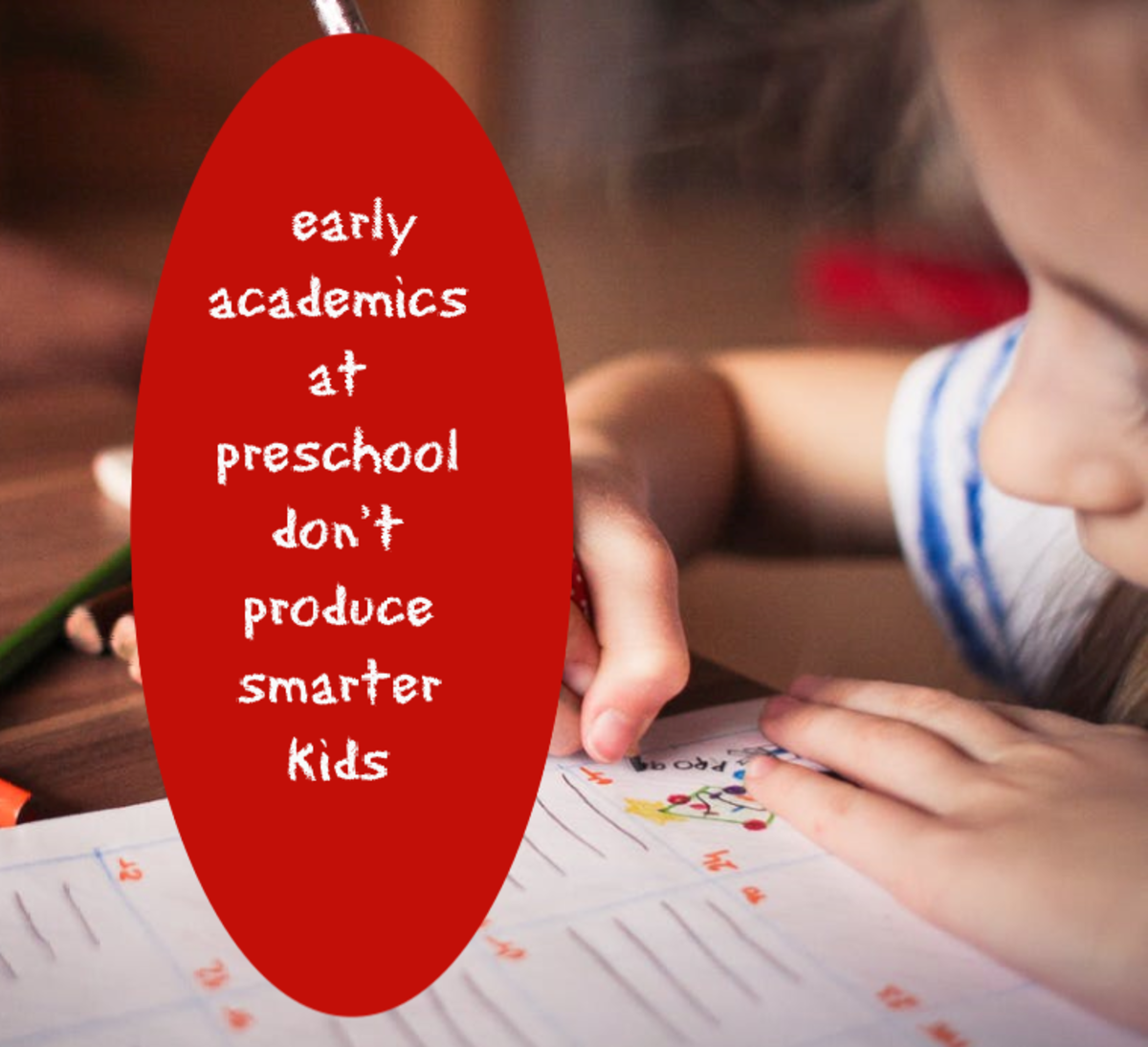 Does Your Child's Preschool Shun the the Latest Findings in Early Learning?