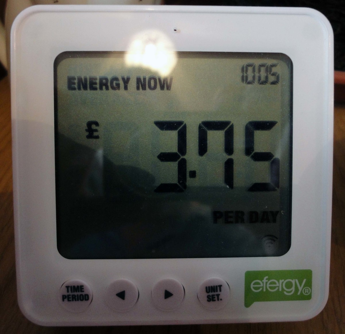 As in previous image plus when the living room lights are switched on e.g. an extra 3p an hour.