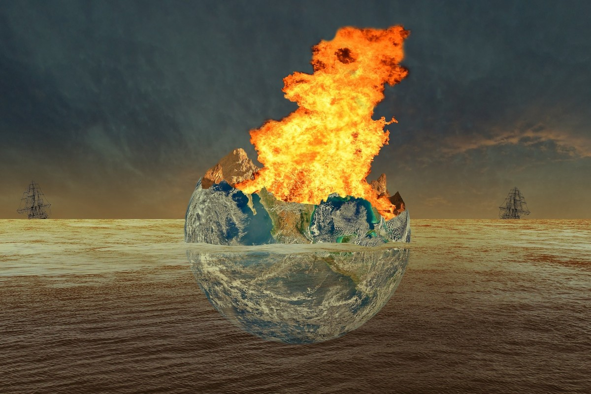 Our globe is on fire.