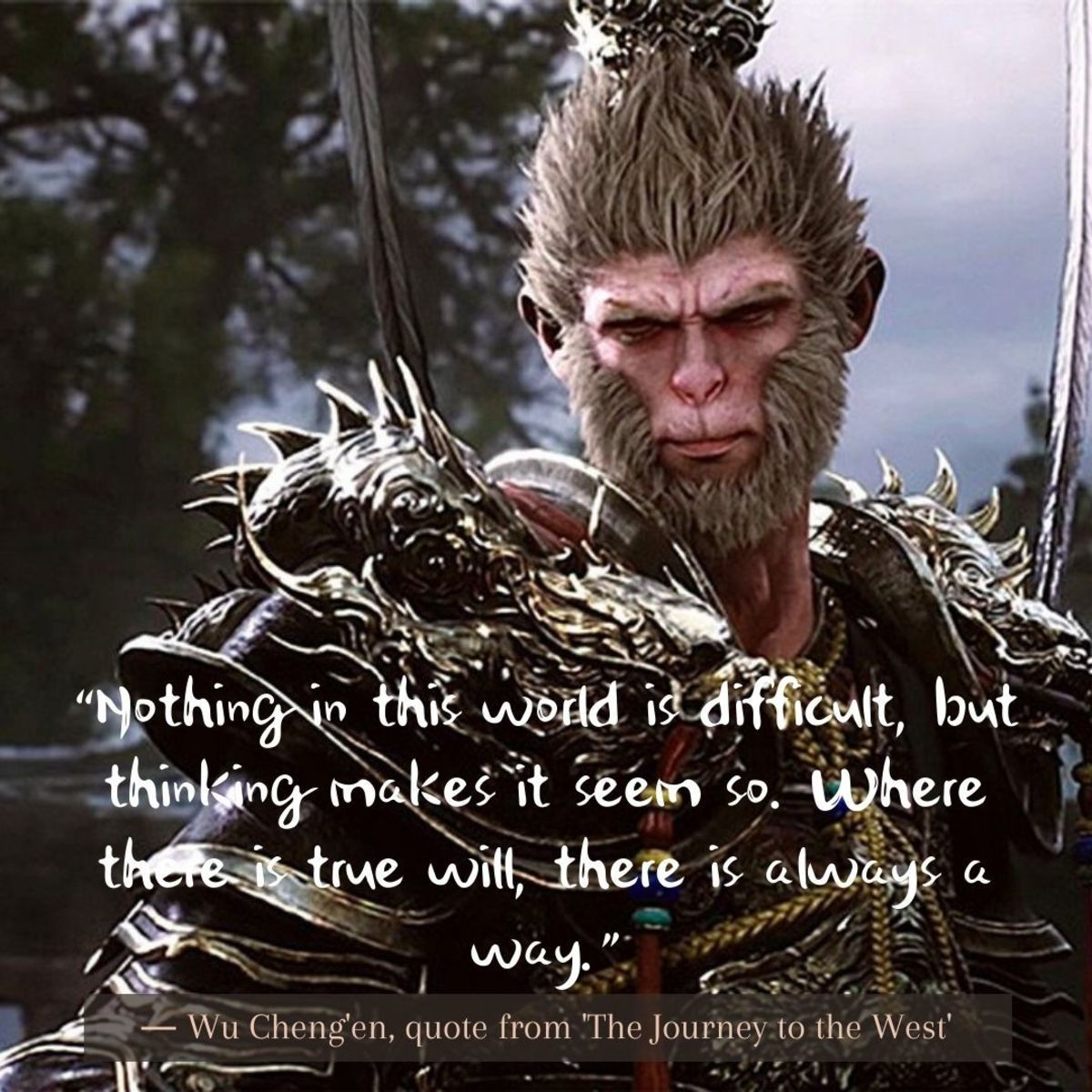 Monkey King Quotes by Wu Cheng'en taken from 'Journey to the West'