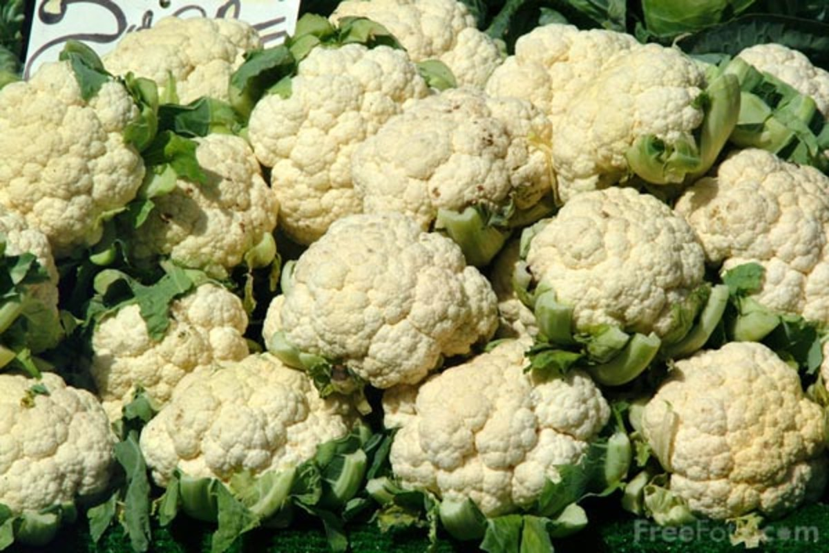 Fresh, healthy cauliflower for your recipes