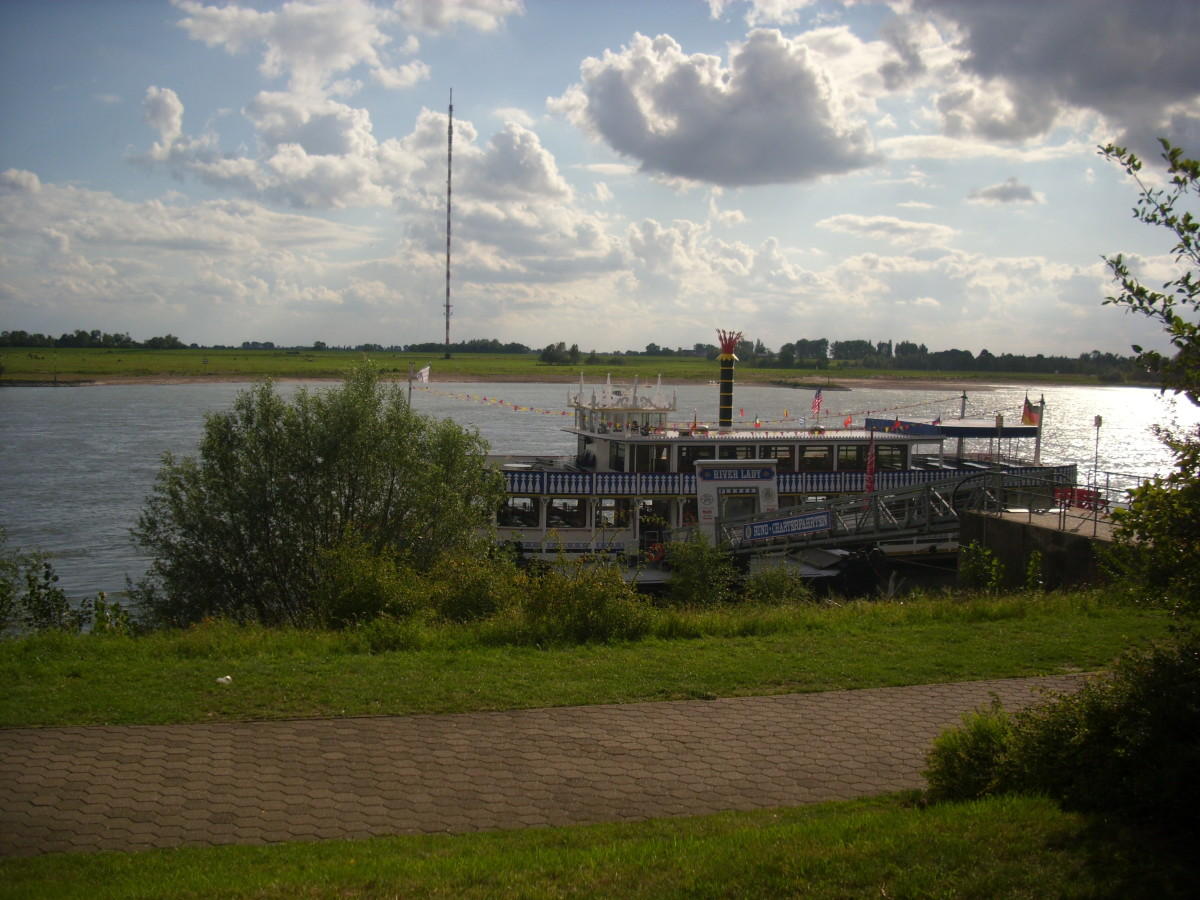 River Lady Boat on the Rhine River, Wesel