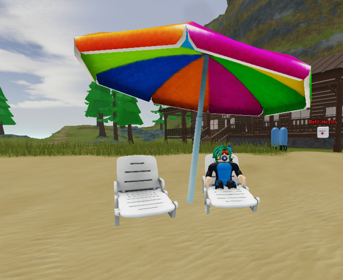 Scuba Diving at Quill Lake is one of Roblox's best treasure hunting games!