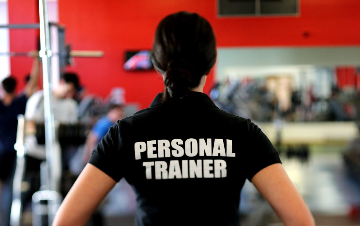 Personal trainers can help kick-start your motivation.