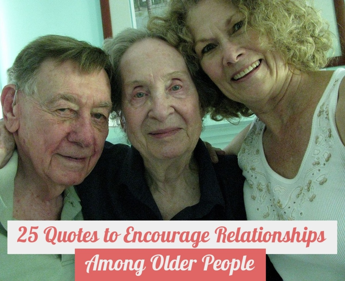 25 Quotes to Encourage Relationships Among Older People