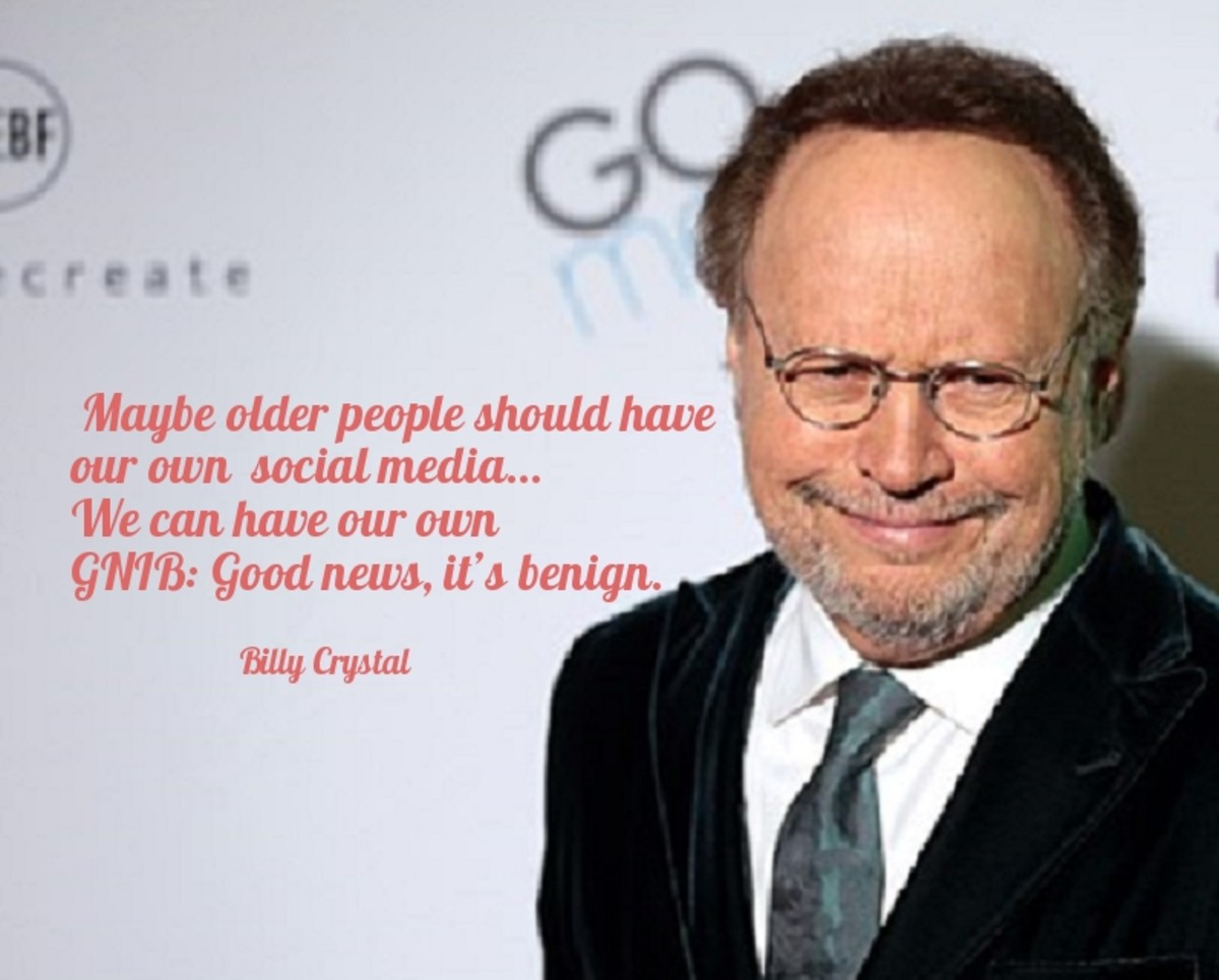Maybe older people should have our own social media.