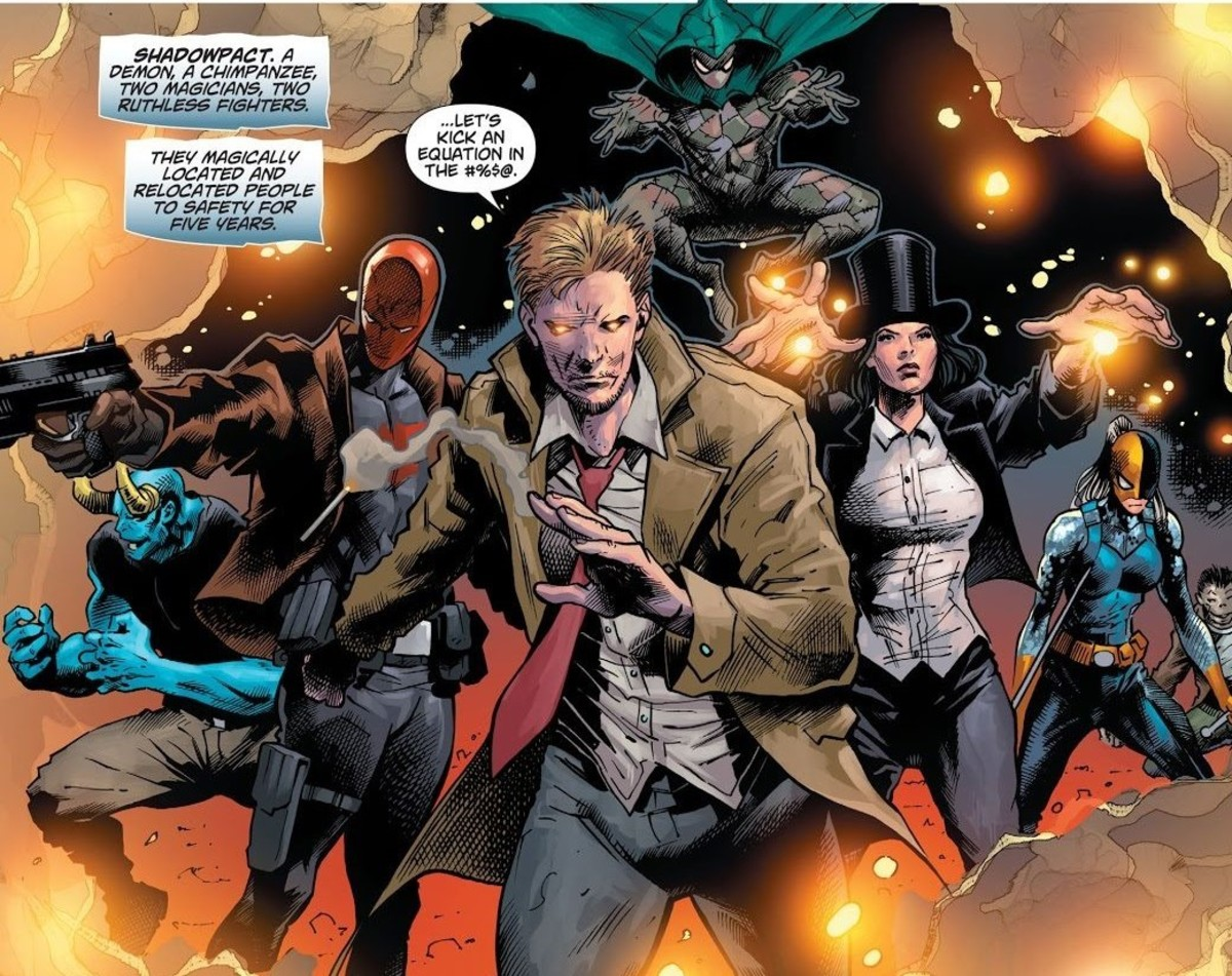 Magical Items collected by John Constantine to Kill Trigon