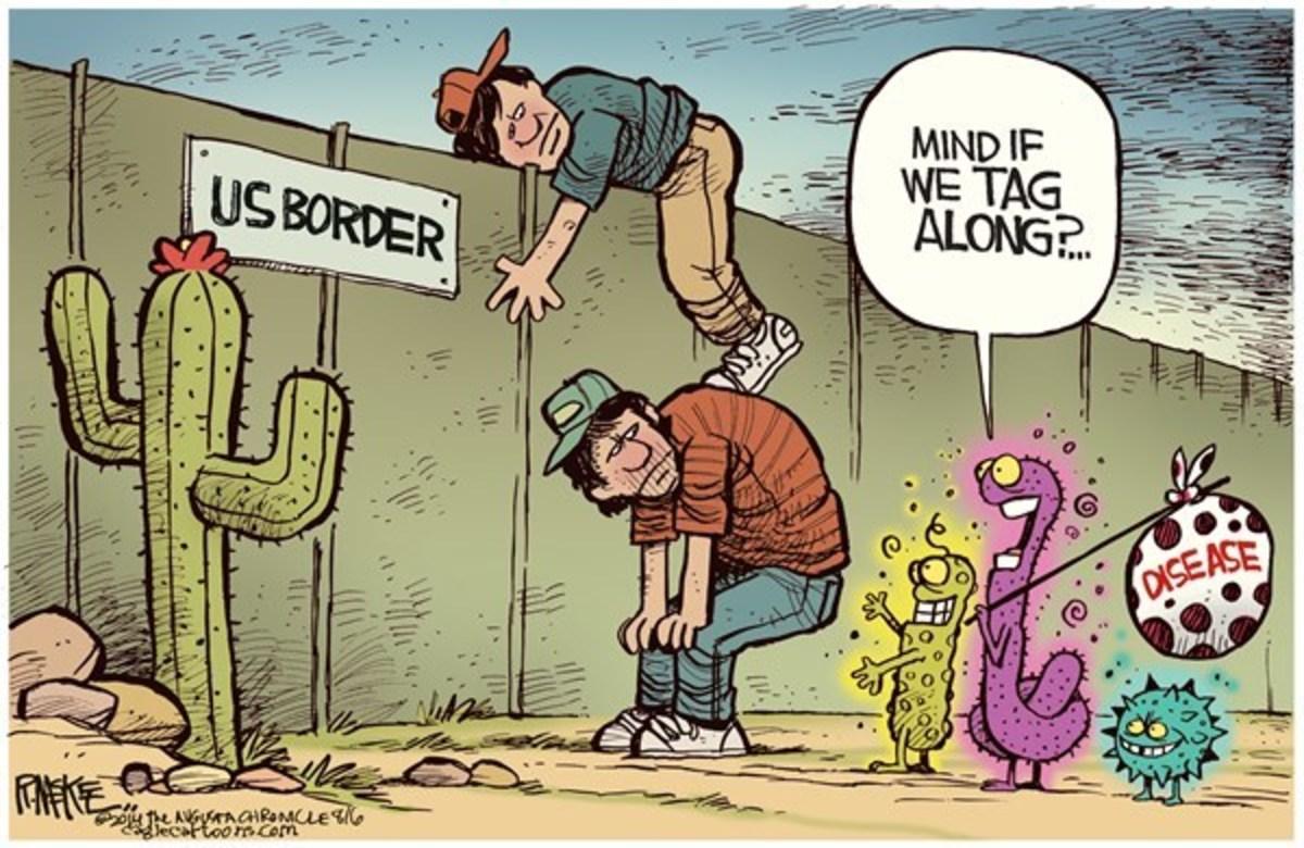 Illegal Aliens Bring Disease