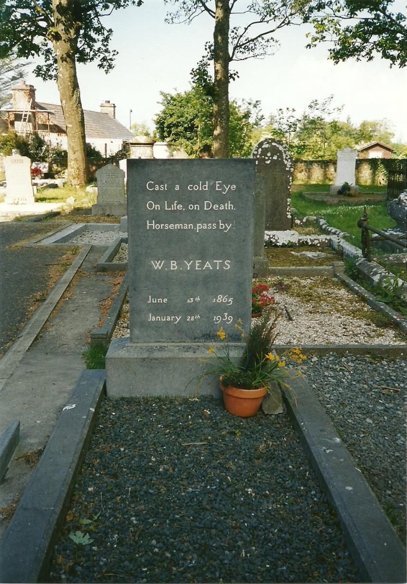 William Butler Yeats Grave in Drumcliff