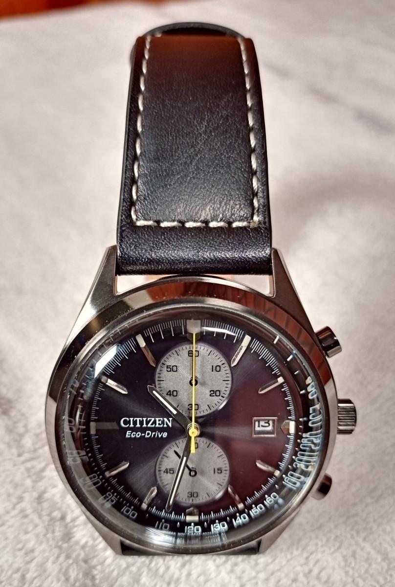 The Citizen Eco-Drive Brycen Chronograph