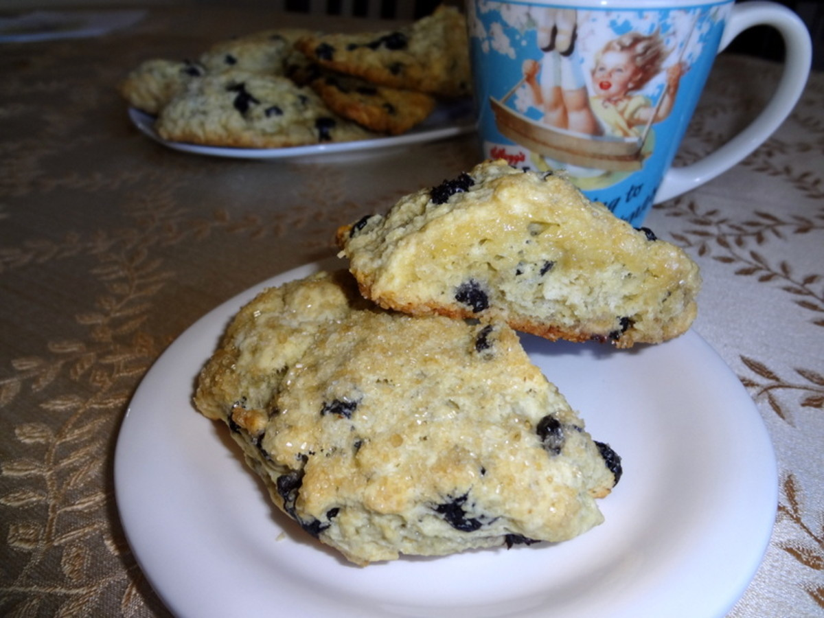 Best Blueberry Scones Recipe