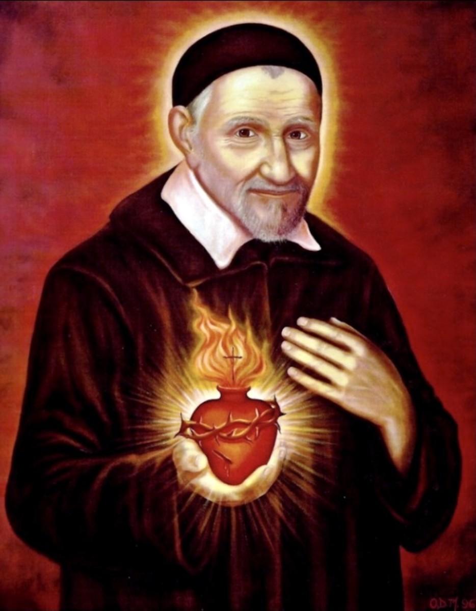 Saint Vincent de Paul, pray for us….