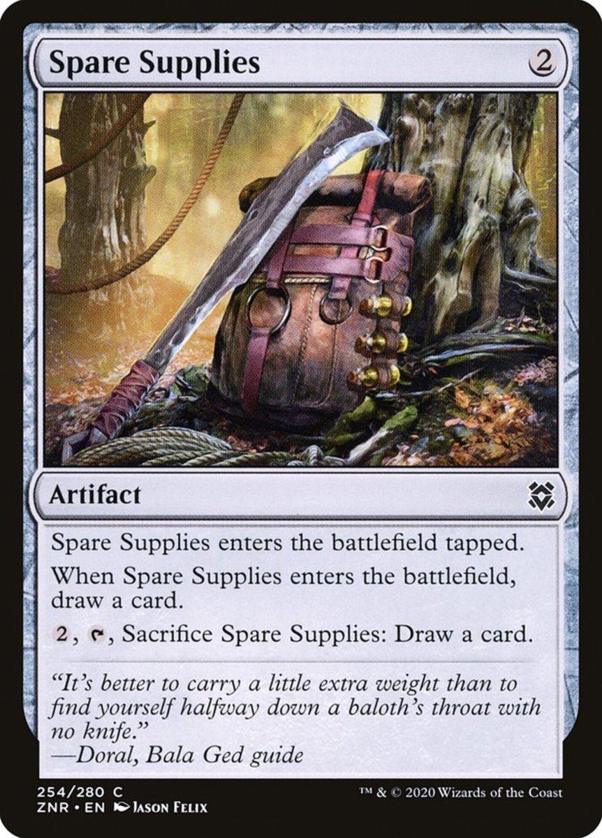 Spare Supplies mtg