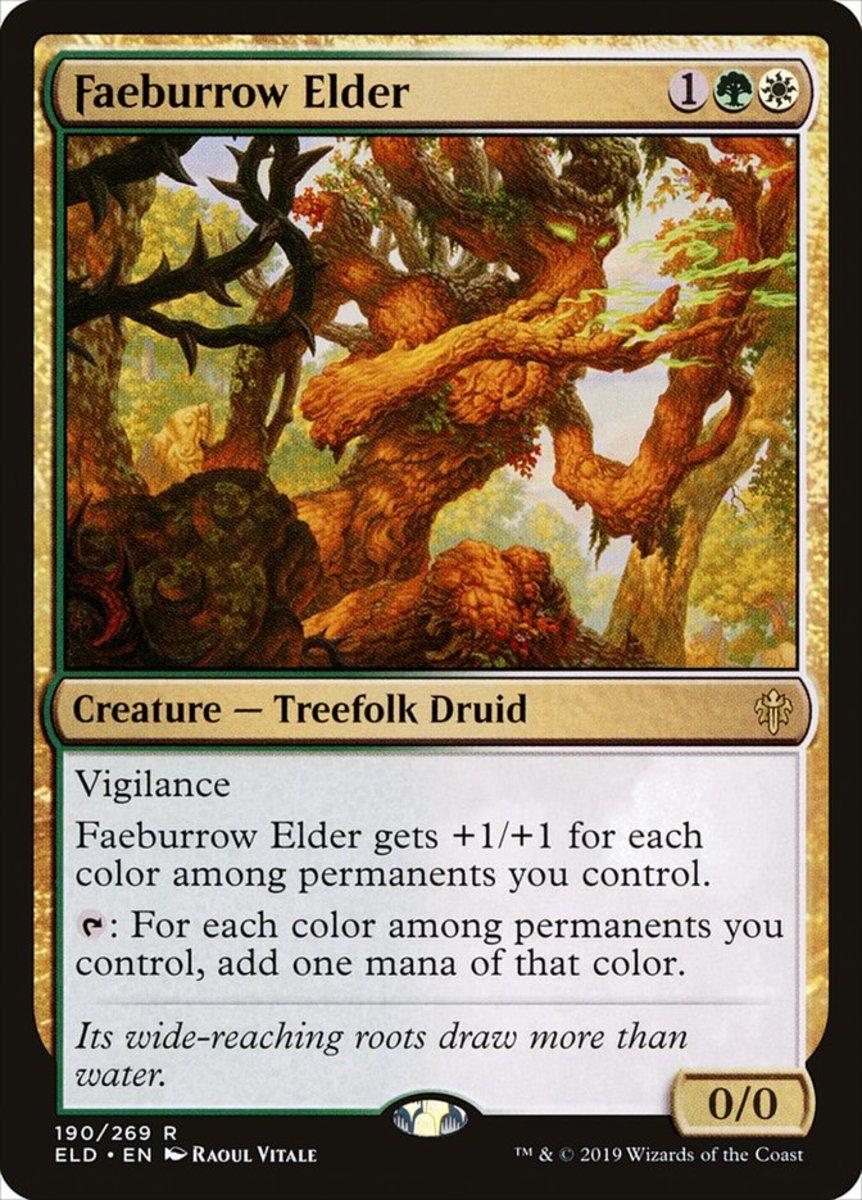 Faeburrow Elder mtg