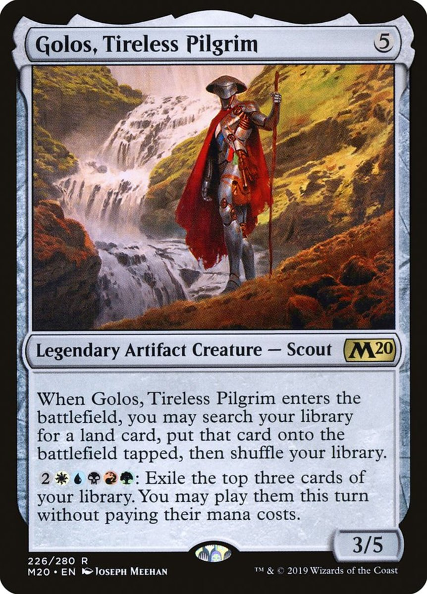 Golos, Tireless Pilgrim mtg