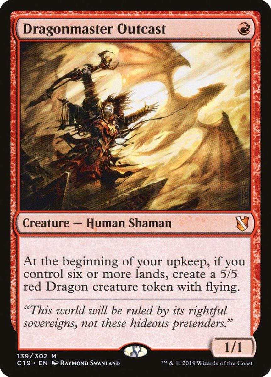 Dragonmaster Outcast mtg
