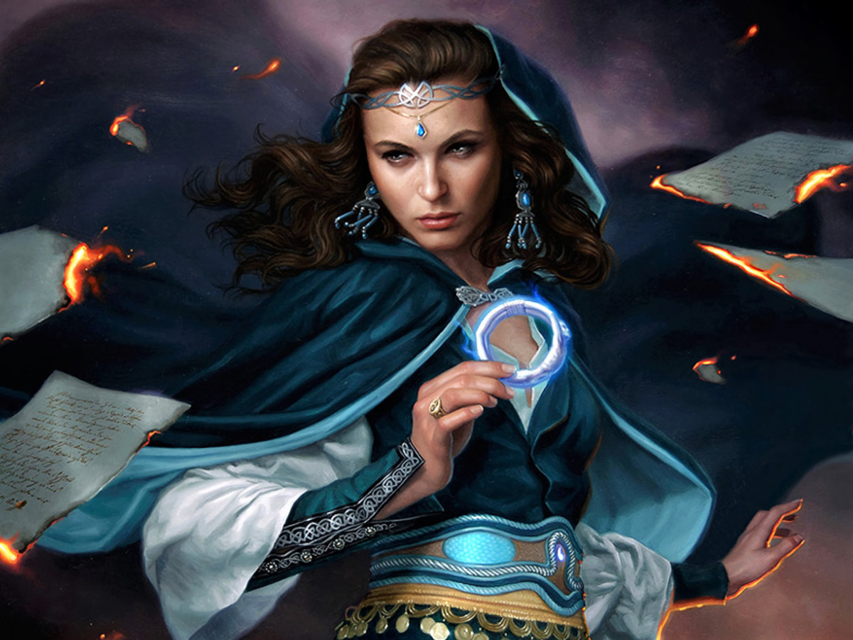 Moiraine in The Wheel of Time