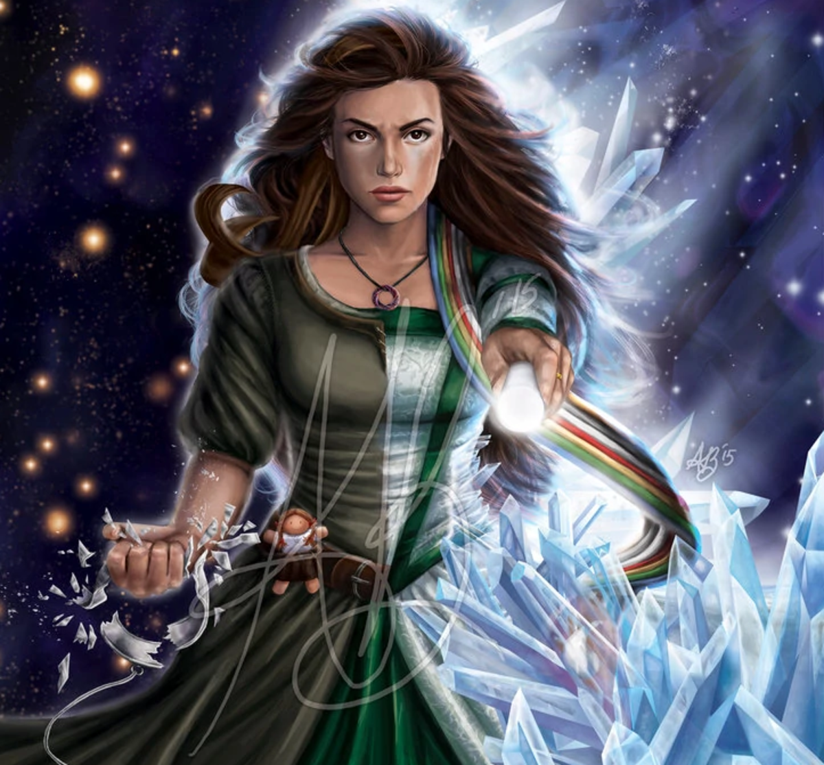 Egwene in The Wheel of Time