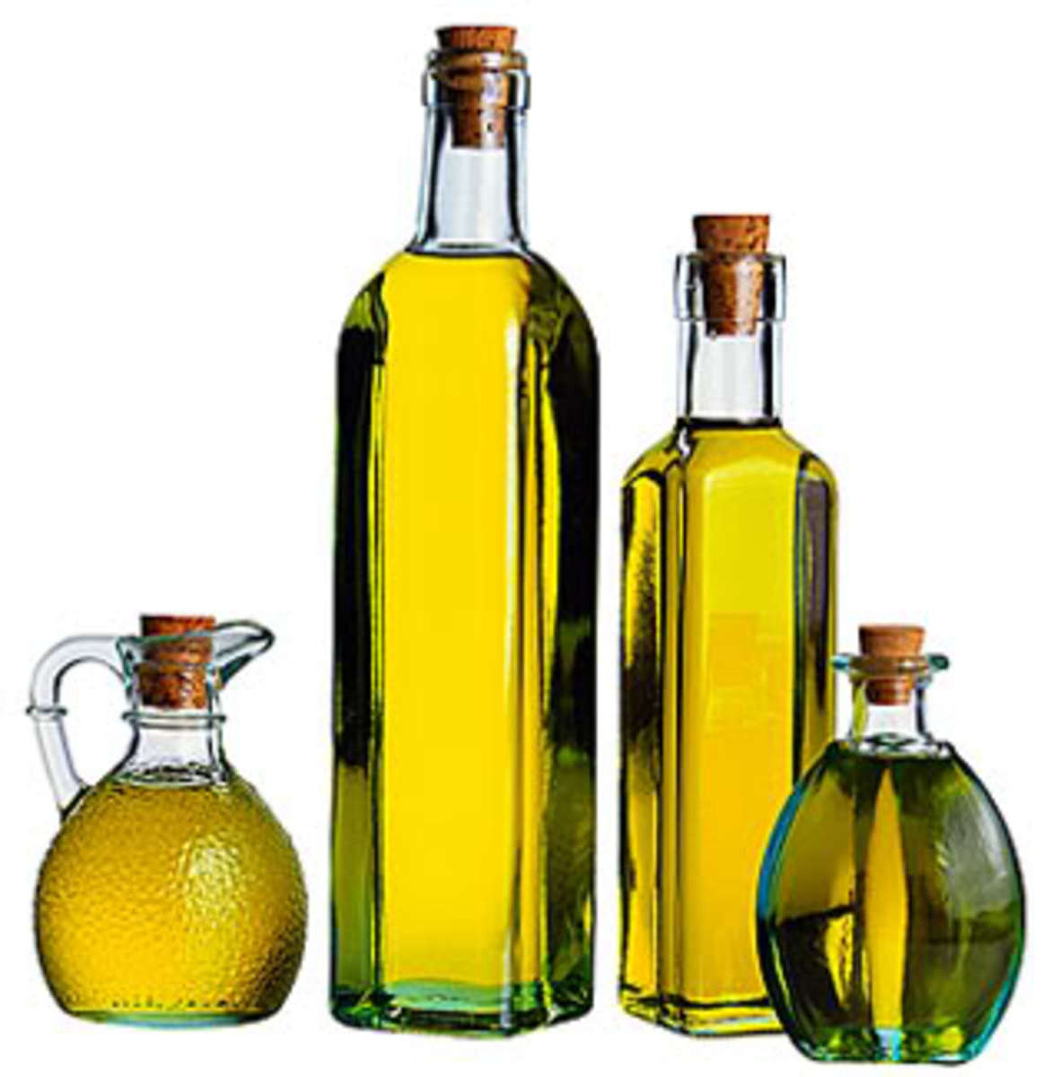 Extra virgin olive oil can sometimes be as much as 90% soybean or peanut oil when counterfeited!