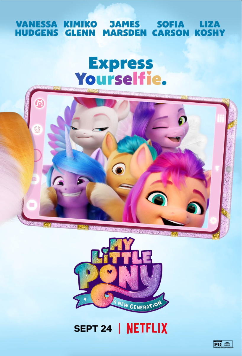"""""""My Little Pony: A New Generation"""" Poster"""