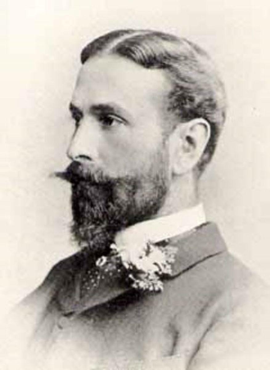 Prince Louis Battenberg circa 1884.