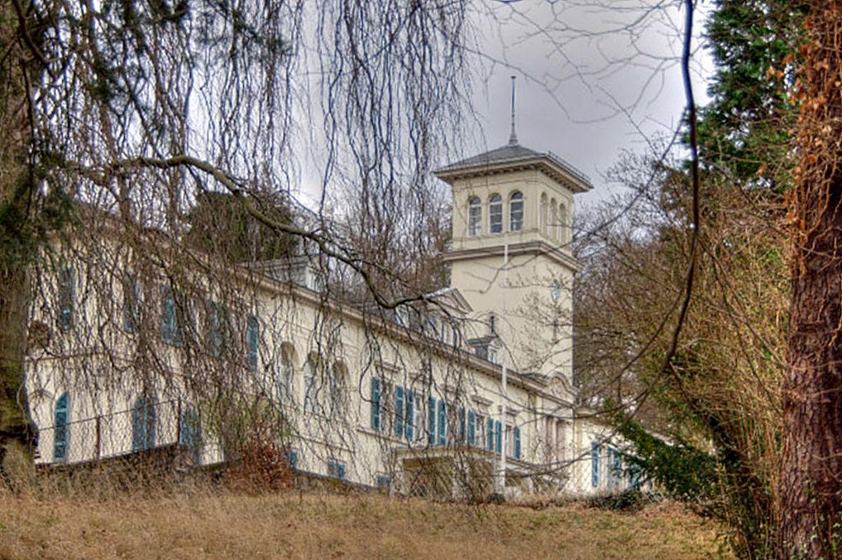 Schloss Heiligenberg in Jugenheim, Germany.