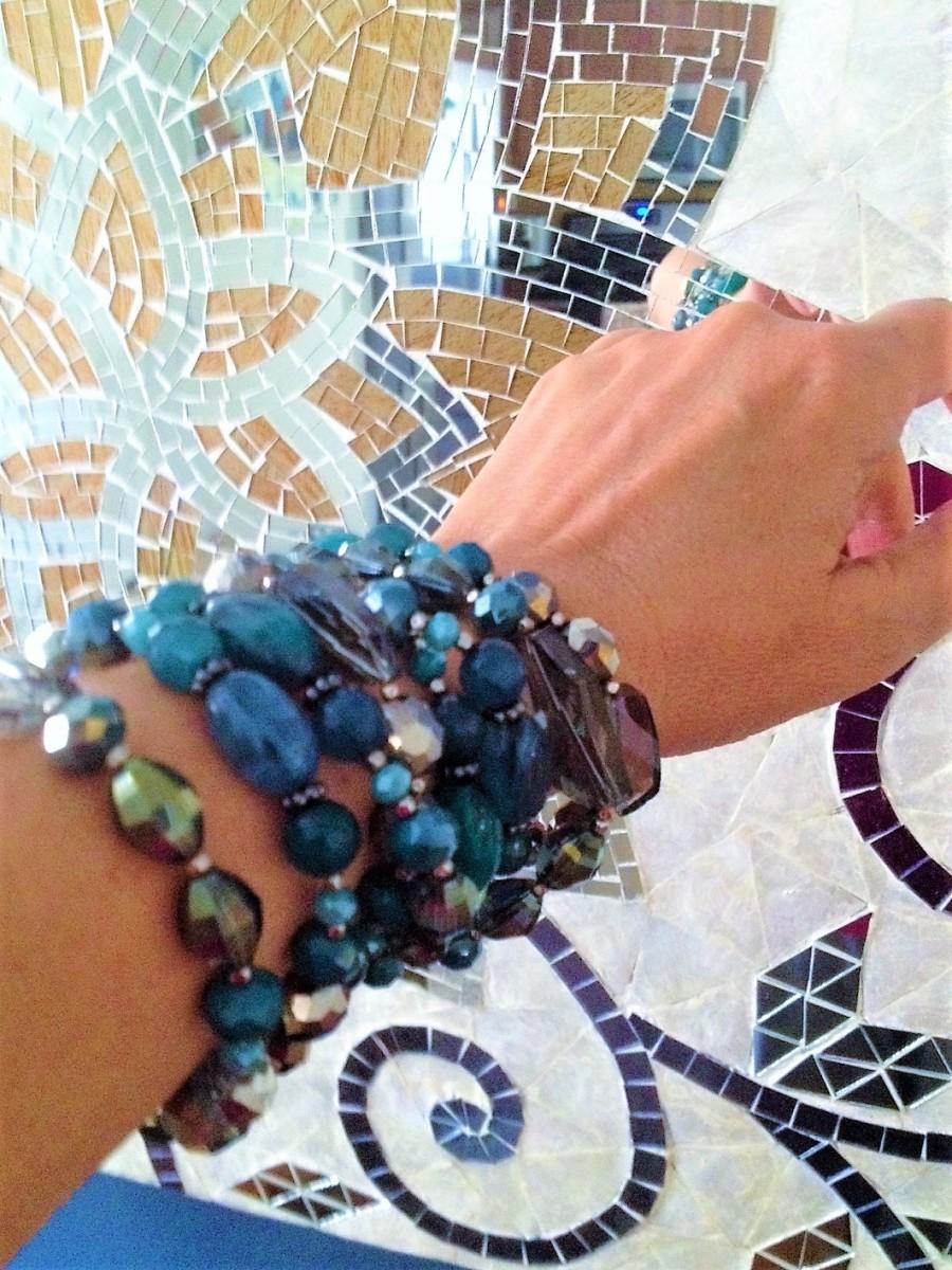 Necklace as bracelet!