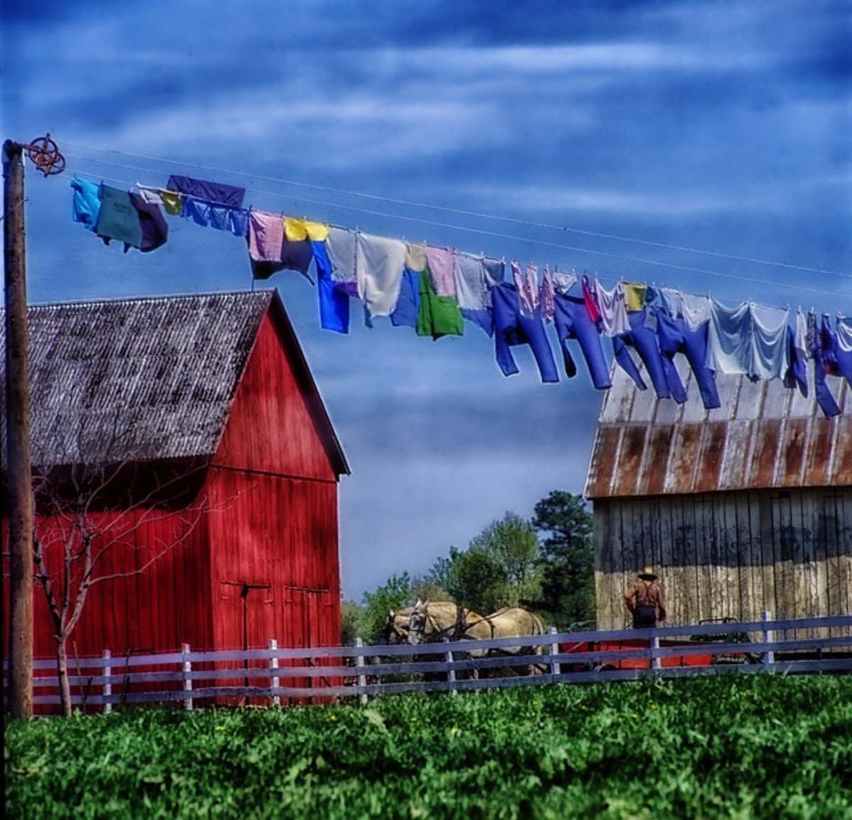 The Amish make and sell high quality quilts that appreciate in value, baked goods, jams and jellies, furniture, cabinets, wagons, and other products.