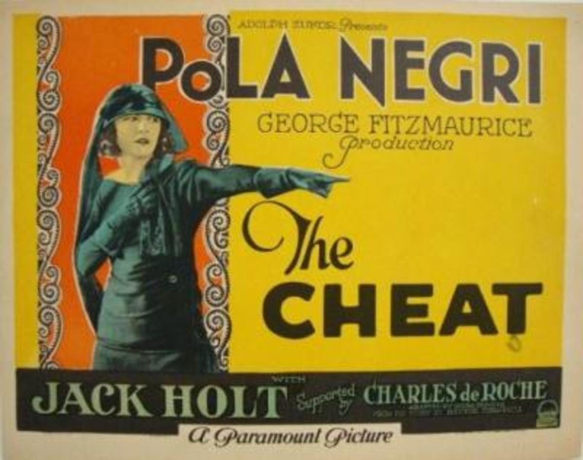 the cheat lobby card