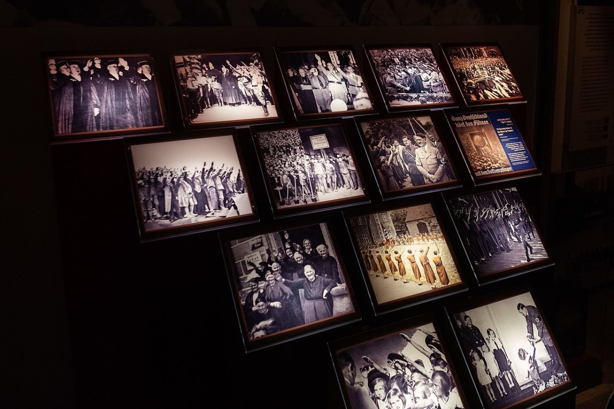 One of the exhibitions at Yad Vashem
