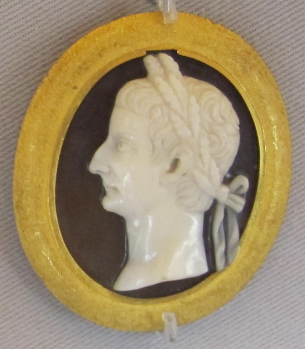 Roman Emperor Tiberius (42 B.C. - 37 A.D.)