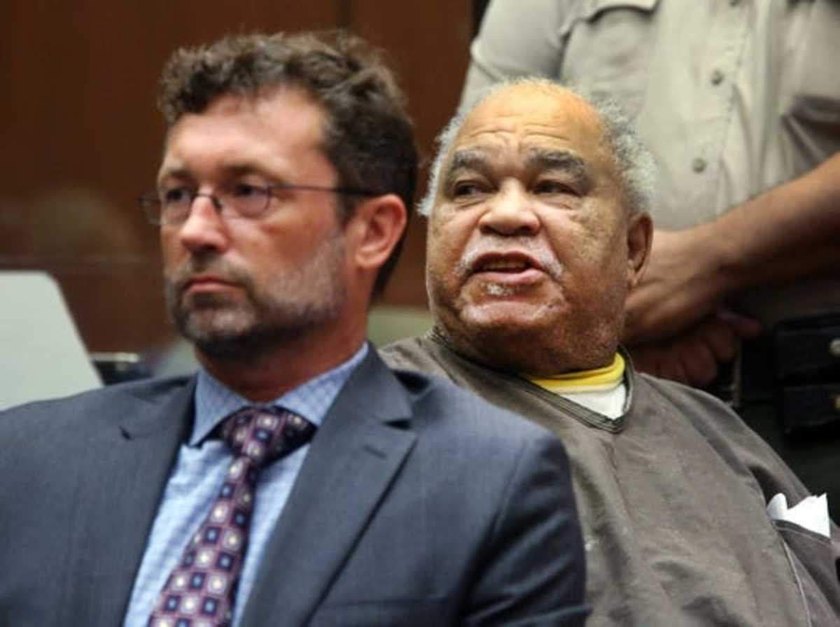 Samuel Little during his trial