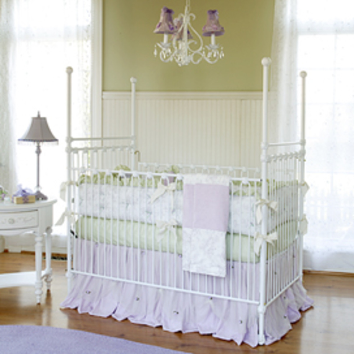 Lavender Dreams room design by Posh Tots
