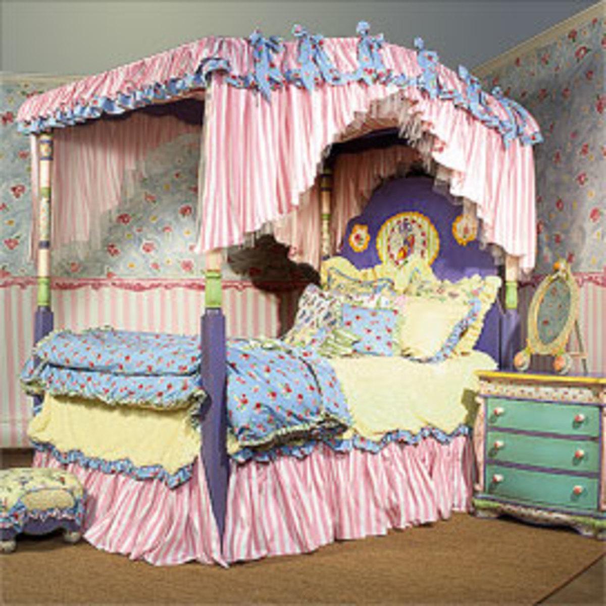 Divine Dress Up fantasy-themed bed