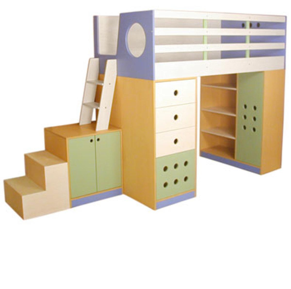 Loft Bed by Casa Kids