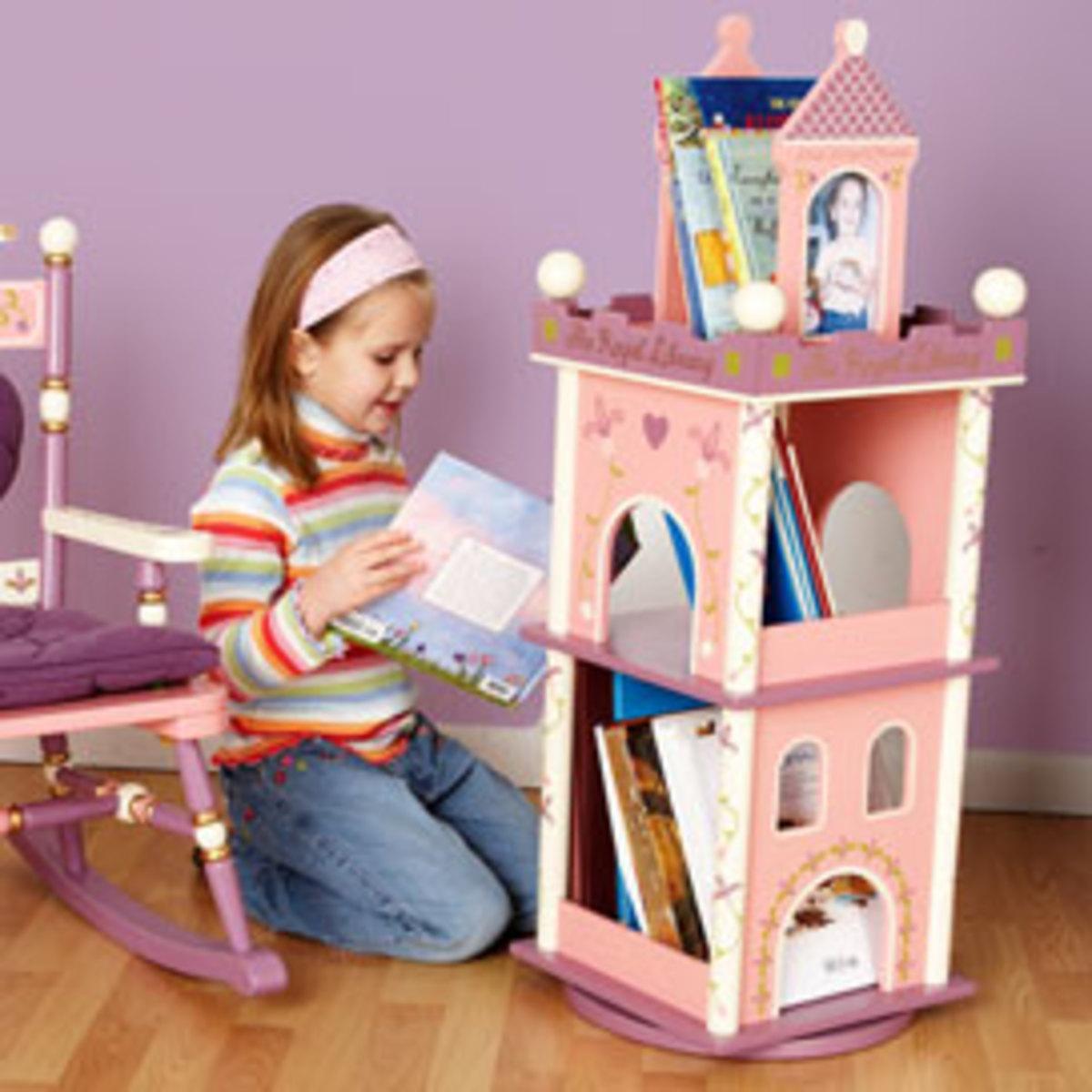 Always a Princess revolving bookcase