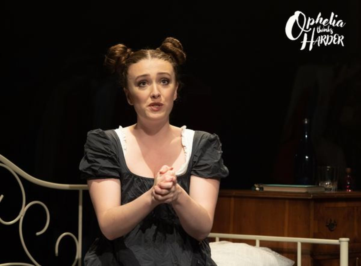 Ophelia Thinks Harder - A comedy by Jean Betts/William Shakespeare. Image by David Ovenden. Sedos 2021 All Rights Reserved