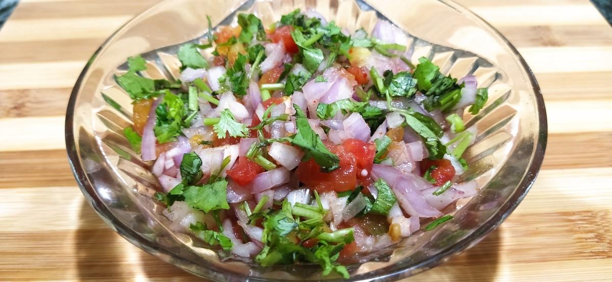 Tomato Onion Salsa Recipe