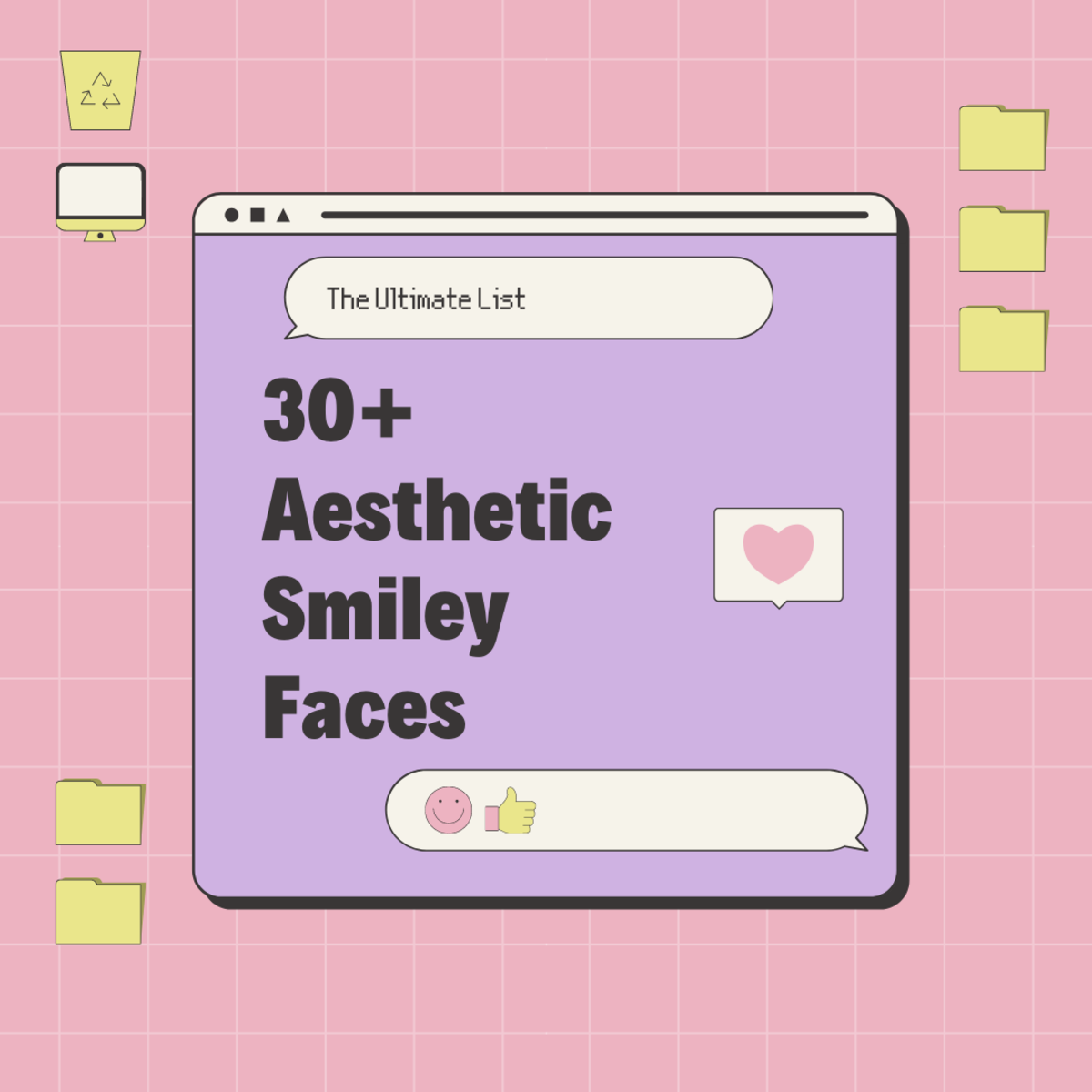 Discover 30+ aesthetic smiley faces in this in-depth guide!