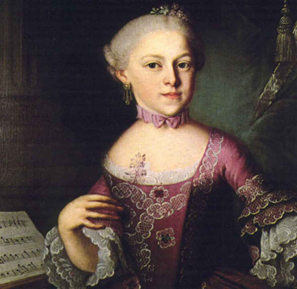 Painting of Maria Anna Mozart